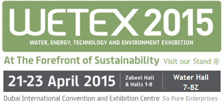 Wetex 2015 sign